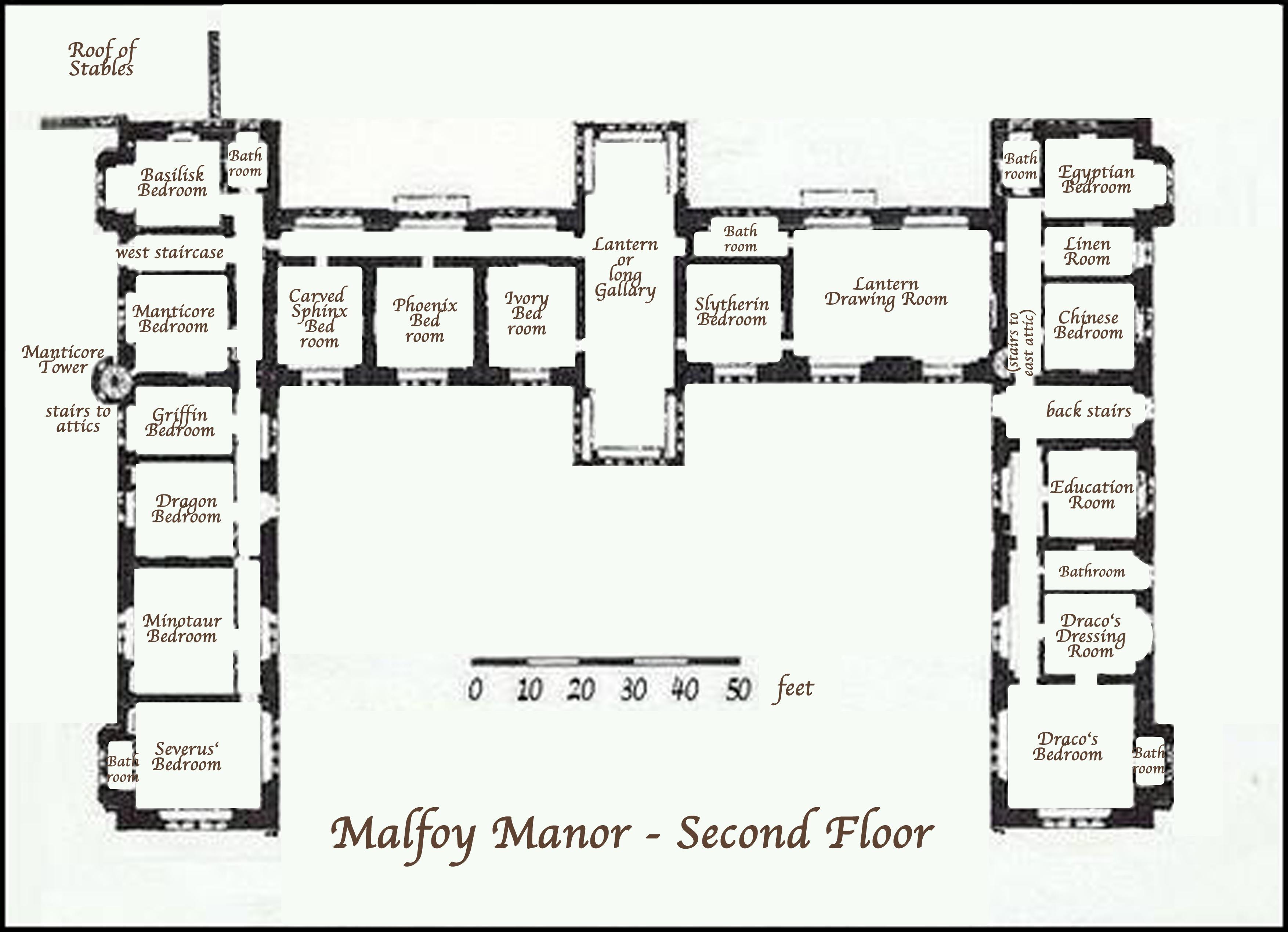 Malfoy Manor Floor Plan Pin Snape Collage Severus